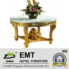 Gloden Honorable Style Carving Wooden Flower Desk (EMT-FD04)