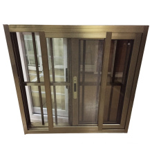 6mm single tinted glass philippines style burglar proof sliding window grill design colour