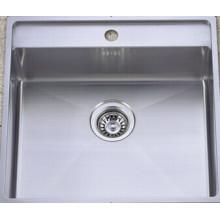 High Quality Stainless Steel Handmade Kitchen Wash Sink (KHS2021)