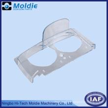 Couverture de laveuse ABS transparent avec deux trous