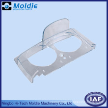 Couvercle ABS rondelle transparence avec deux trous