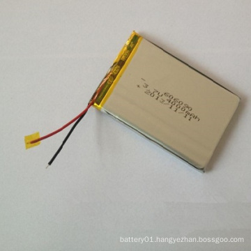 Small Size Lithium-Ion Polymer Battery 606090 3.7V 4000mAh Battery