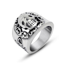 Готический панк черепа мужская кольцо ювелирных изделий нержавеющей стали