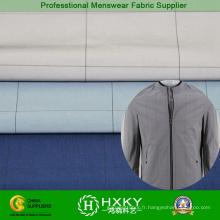 Plaine de contrôles teints en tissu de Polyester de mémoire pour les coupe-vent prénatale