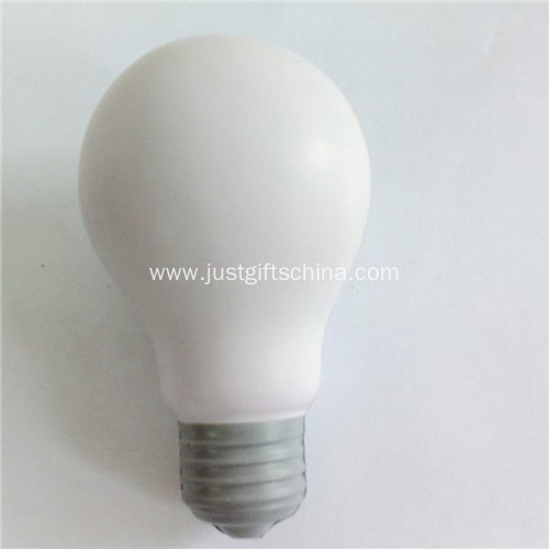 Promotional Electric Bulb Shape Stress Ball
