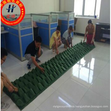 Green Hang Pocket Planter