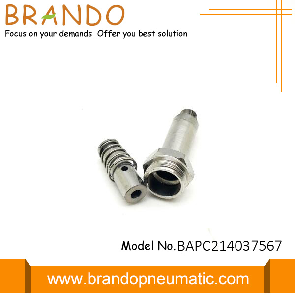 Two Way Two Way Silver Solenoid Valve Stem
