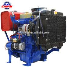 professinal fabricant de 2105D 2110D refroidi à l'eau 2 cylindres diesel moteur