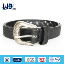 2014 Fancy ladies black PU belts