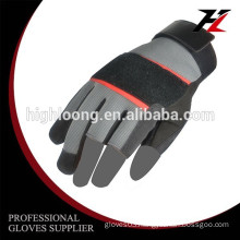 10G polyester palm coating latex crinkle thin cheap mechanical safety glove