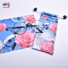 Bolsa de microfibra de alta calidad bolsa de almacenamiento de limpieza de tela suave
