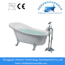 High Quality for Clawfoot Bathtub with Four Legs 4 foot home depot free standing tubs export to Spain Exporter