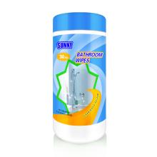 100% Biodegradable Toilet Flushable Bathroom Clean Wipes