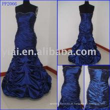 2010 fabricação sexy elgant laço bola vestido PP2066