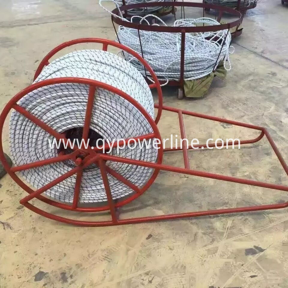 Steel Wire Rope Reel and Stand