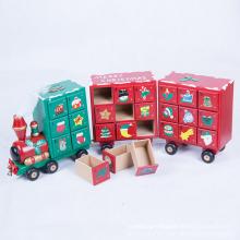 Cadeau de Noël créatif de haute qualité en bois Train de Noël