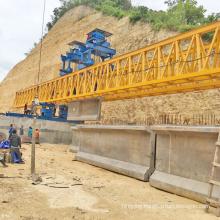 180 ton railway bridge erection beam launcher crane