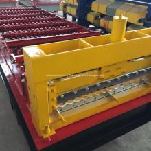 Feuille de toiture ondulée IBR formant la machine
