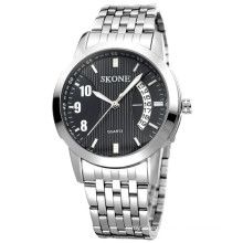 Water resistant stainless steel chain watch men 2016 classic