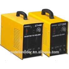 La marca de fábrica superior de China profesional del inversor dc tig mma cortó la soldadora ct416
