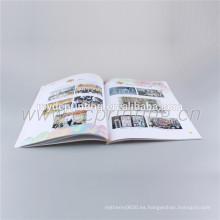 Tamaño A4 a todo color Flip Art Book Printing
