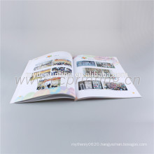 A4 size full color Flip Art Book Printing