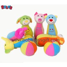 """7 """"Плюшевые Baby Farm другу Боулинг Бал Игрушка Фаршированные животных Стиль Дети Боулинг Бал Игрушка"""