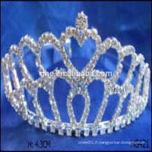 Anniversaire, couronne, grande, tiare, tiare, couronne, concours, mariage, couronne, tiaras, affichage