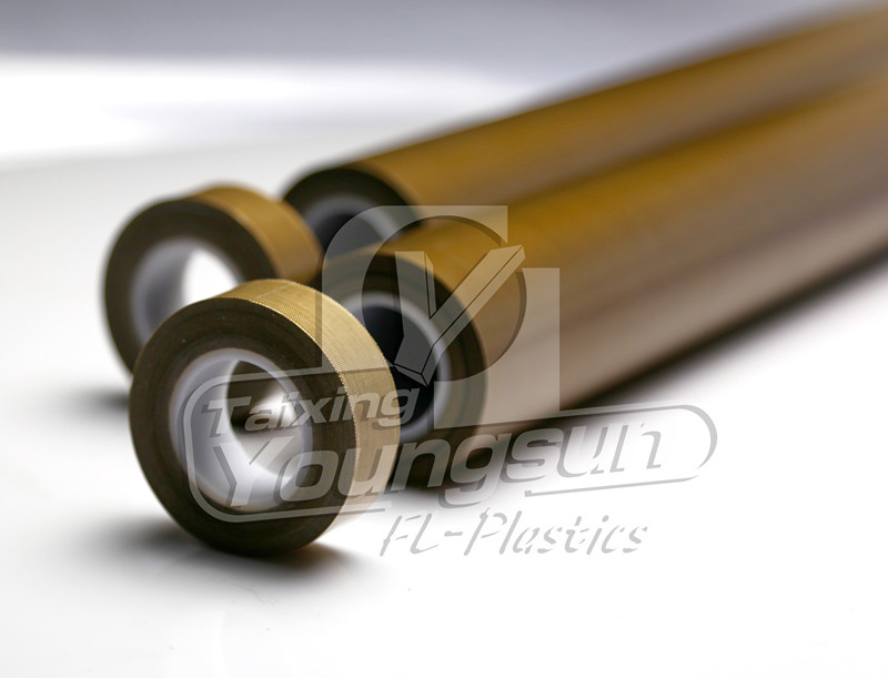 ptfe adhesive for packing machine brown color