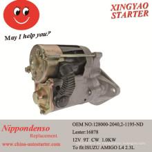 Reparación del motor del coche de Isuzu Amigo Motor del arrancador usado (16878)