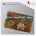 Kalt-Laminierung Kleber blanker Hologramm-Aufkleber für PVC-Karten Sicherheit