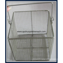 Medicial Stainless Steel Wire Basket for Laboratory  Sterilizer