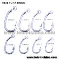 Silber Top Qualität Thunfisch Haken