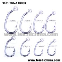 Gancho de atum de prata de qualidade superior