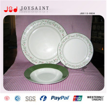 New Arrival New Bone China Dishware Plate Dishware Cup Dishware Saucer