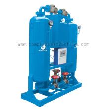 Воздушный компрессор с адсорбционным осушителем без тепловой регенерации