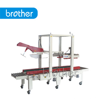 Brother Fx-At5050L Automatic Flaps Fold and Bottom Packing Machine, Carton Sealer, Box Sealing Machine