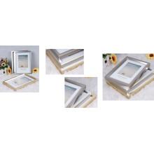 Cadre photo en plastique avec estampillage à chaud (BP-TA3)
