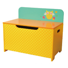 Wooden Toy Storage Toy Box Bench Chest Children Furniture Toy Chest Decoration Chest Storage Case