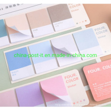Pure 4 Color Per Set Sticky Notes Paper Pads