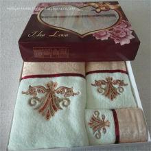 Bath Towels, Hand Towel & Fingertip Towel Set
