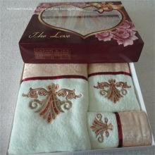 Toalhas de banho, toalha de mão e conjunto de toalha para o dedo
