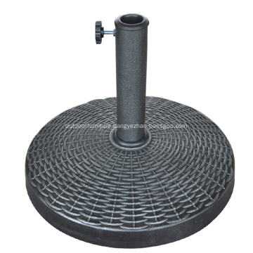 Outdoor Hot Sell Round Resin Umbrella Base