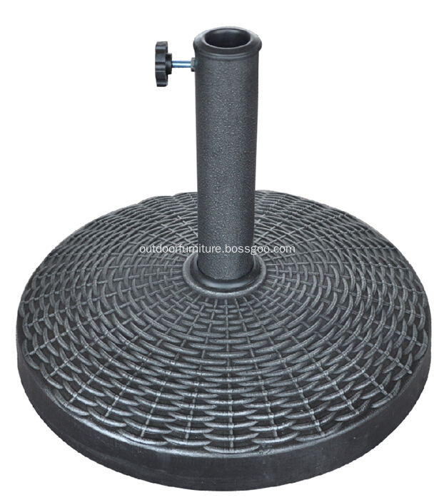DL-030-10 Outdoor Hot Sell Round Resin Umbrella Base