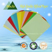 Preiswertes Großhandels80GSM Farben-Kopierpapier-Drucker-Papier mit A4 Buchstabe-Größe