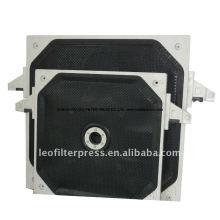 Placa de filtro de membrana, filtro de membrana Presione la placa de filtro de Leo Filter Press