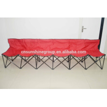 Folding 6 seaters camping chair with LOGO for promotion