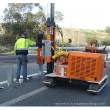 Conductor de pila de barandilla de carretera hidráulica