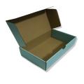 Mini caixa de presente de papel azul