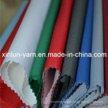 Poliéster Plain Two Layers Têxtil Ligado para Vestuário